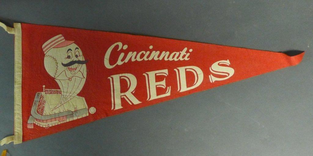 National League Vintage Baseball Pennant Flags - 5