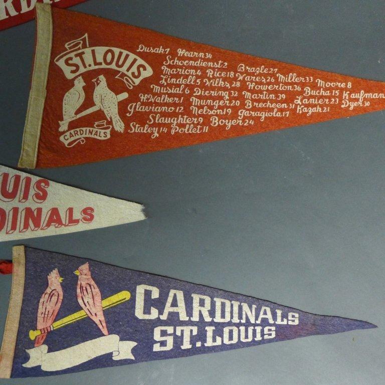 St. Louis Cardinals Vintage Pennant Flags - 2