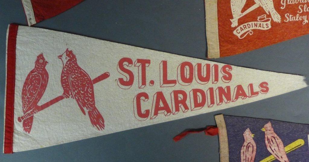 St. Louis Cardinals Vintage Pennant Flags - 3