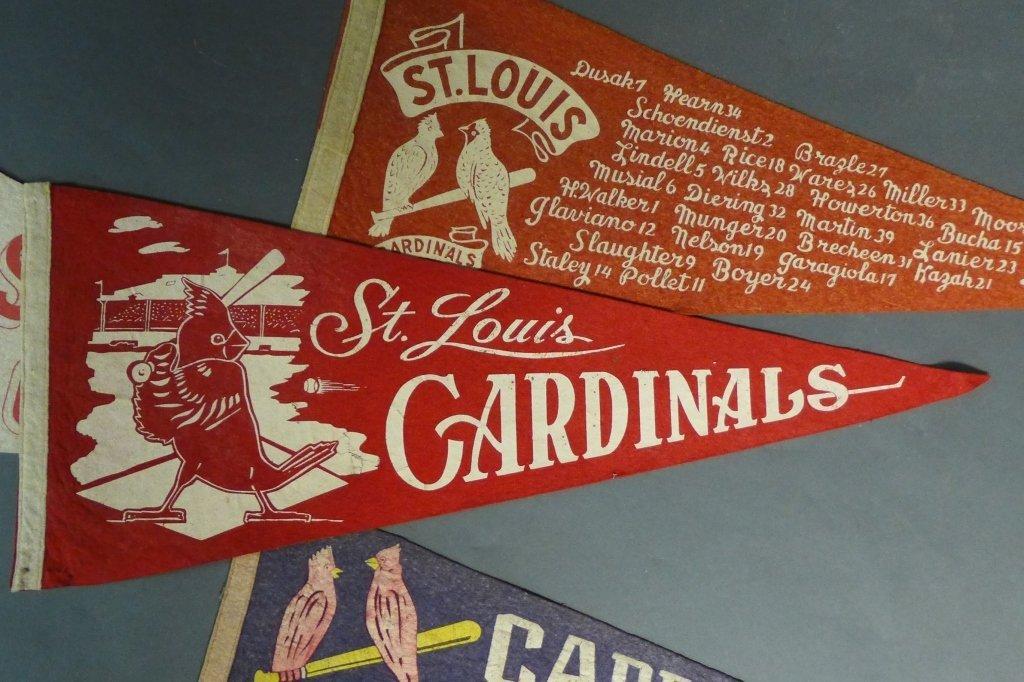 St. Louis Cardinals Vintage Pennant Flags - 5