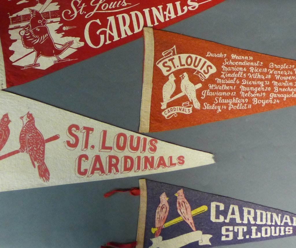 St. Louis Cardinals Vintage Pennant Flags - 6