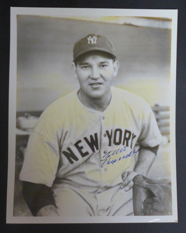 Allie Reynolds Autographed AL Baseball & Photo - 10