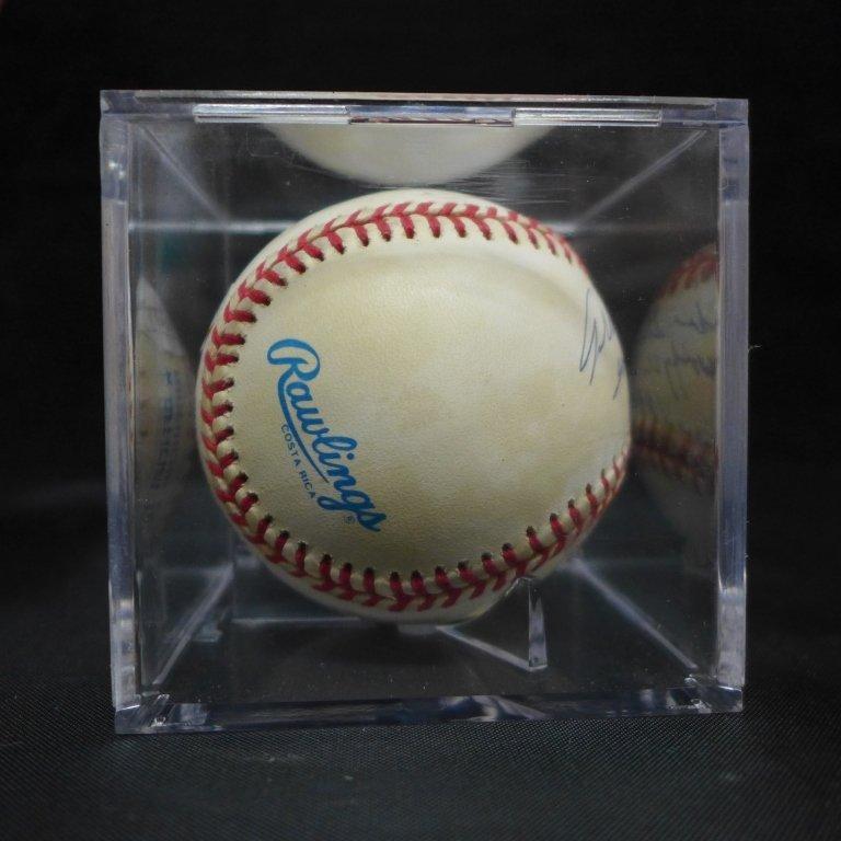 Allie Reynolds Autographed AL Baseball & Photo - 5