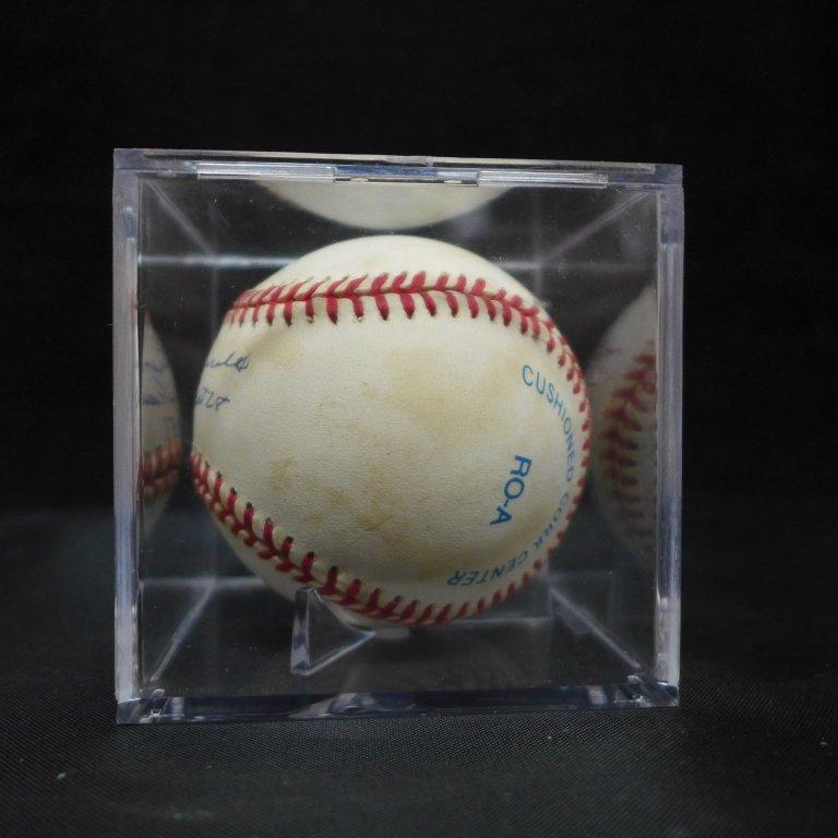 Allie Reynolds Autographed AL Baseball & Photo - 7
