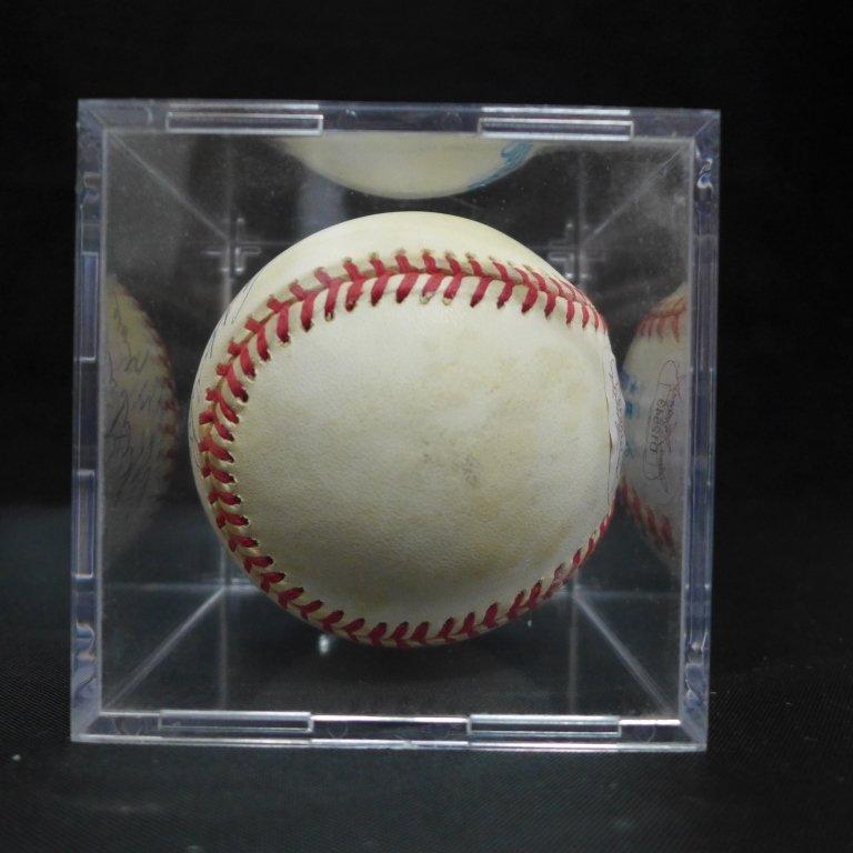 Allie Reynolds Autographed AL Baseball & Photo - 8