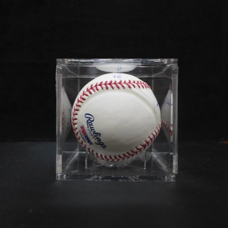 "Autographed Hideki Matsui ""#55"" MLB Baseball PSA - 5"