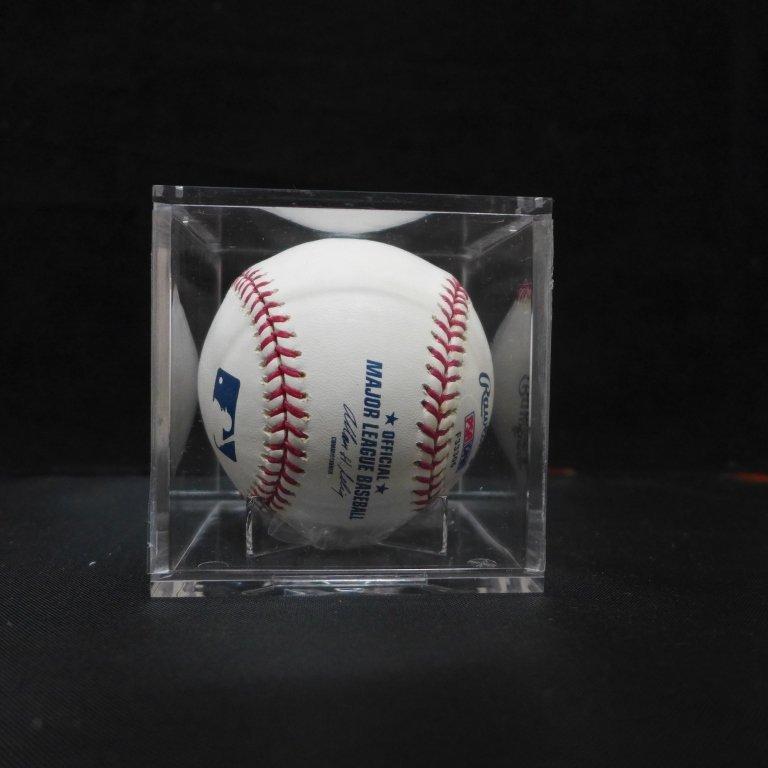 "Autographed Hideki Matsui ""#55"" MLB Baseball PSA - 6"