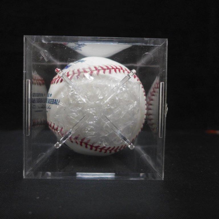 "Autographed Hideki Matsui ""#55"" MLB Baseball PSA - 9"
