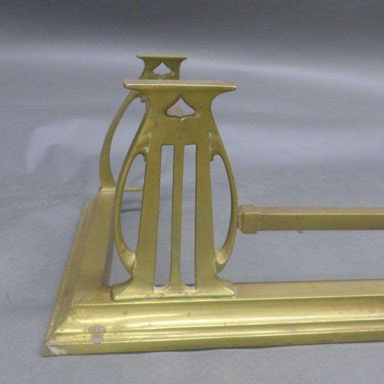 Brass Fireplace Fender - 2