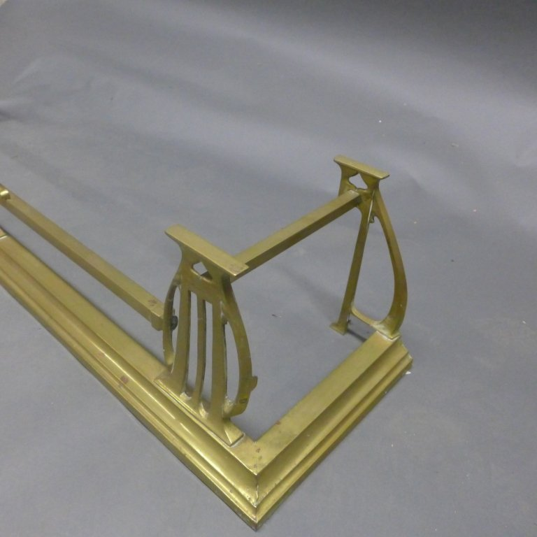 Brass Fireplace Fender - 4