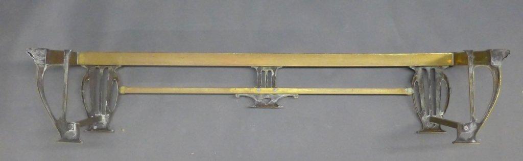 Brass Fireplace Fender - 5