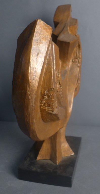 Signed Judaica Tree Sculpture - 5