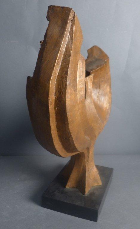 Signed Judaica Tree Sculpture - 7