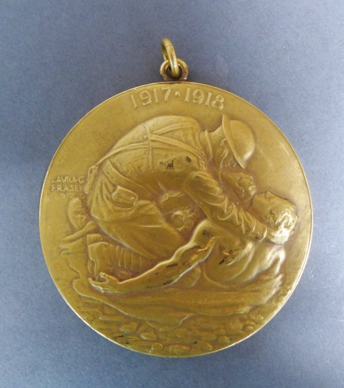 WWI Medal for the Chaplains