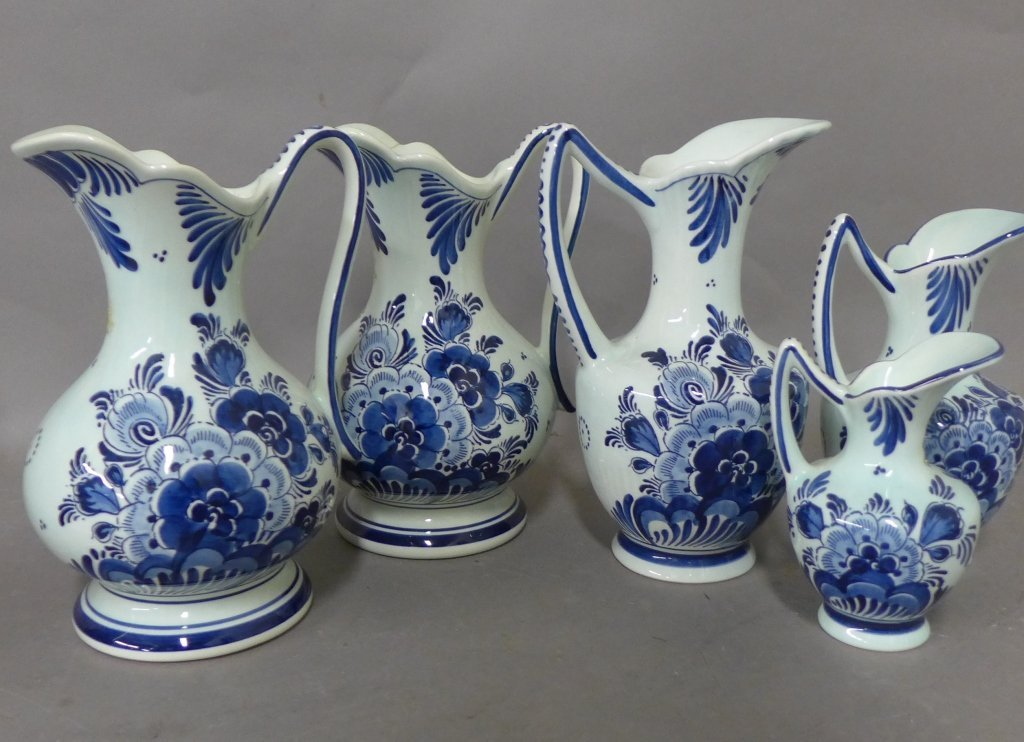 Delft Holland Hand Painted Porcelain - 2