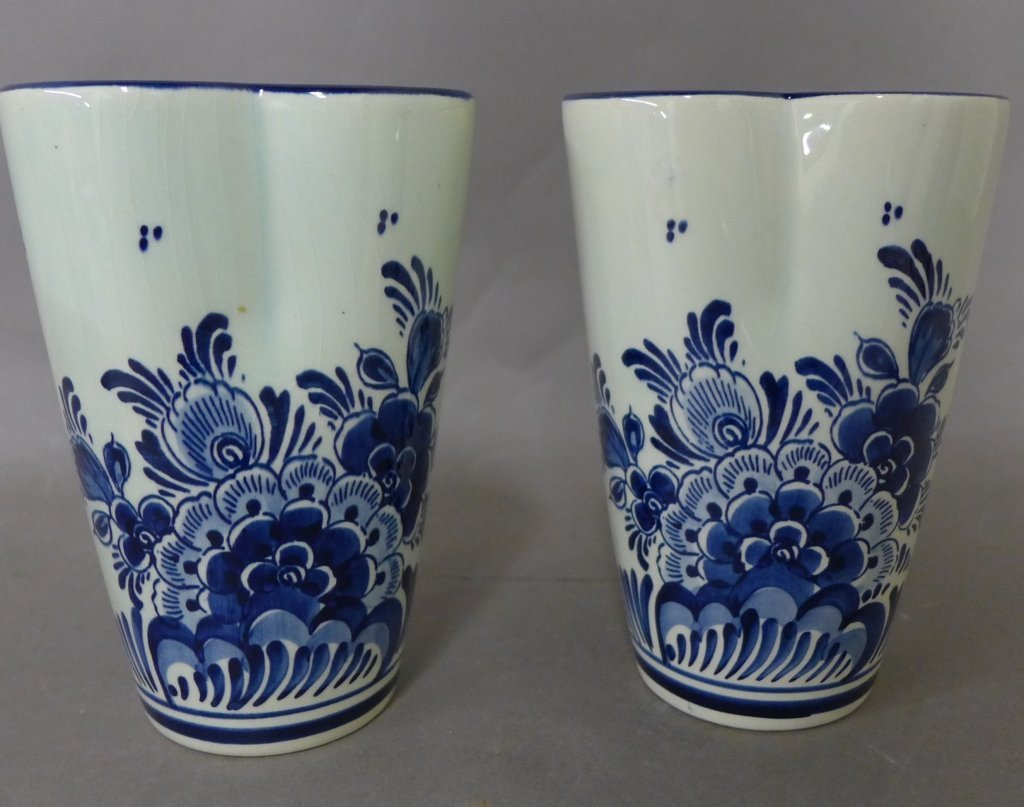 Delft Holland Hand Painted Porcelain - 8