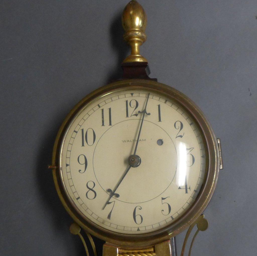 Waltham Banjo Clock - 4