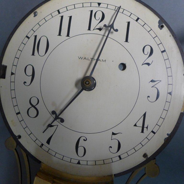 Waltham Banjo Clock - 7