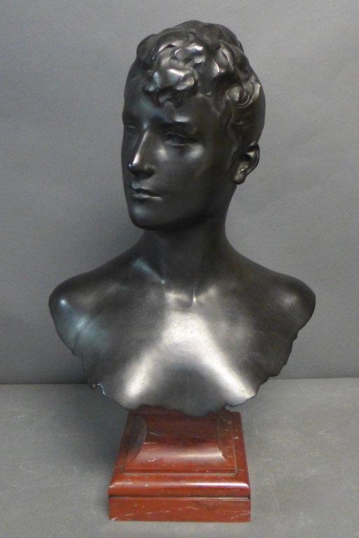 Alexandre Falguiere, French  (1831 – 1900)