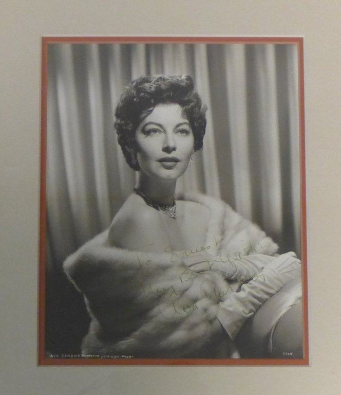 Autographed Photo of Ava Gardner - 2