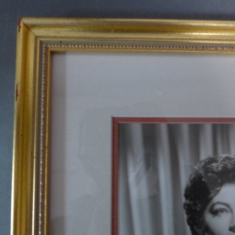 Autographed Photo of Ava Gardner - 8
