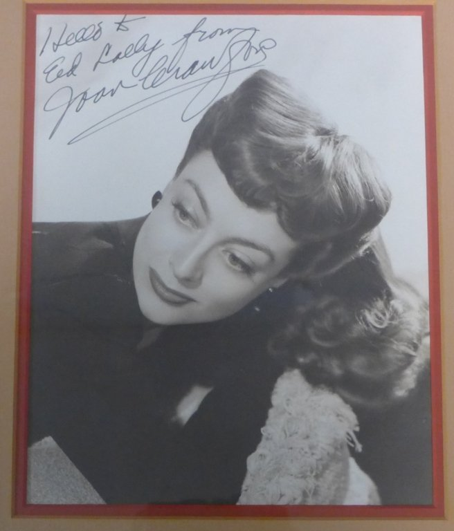Autographed Photo of Joan Crawford - 2