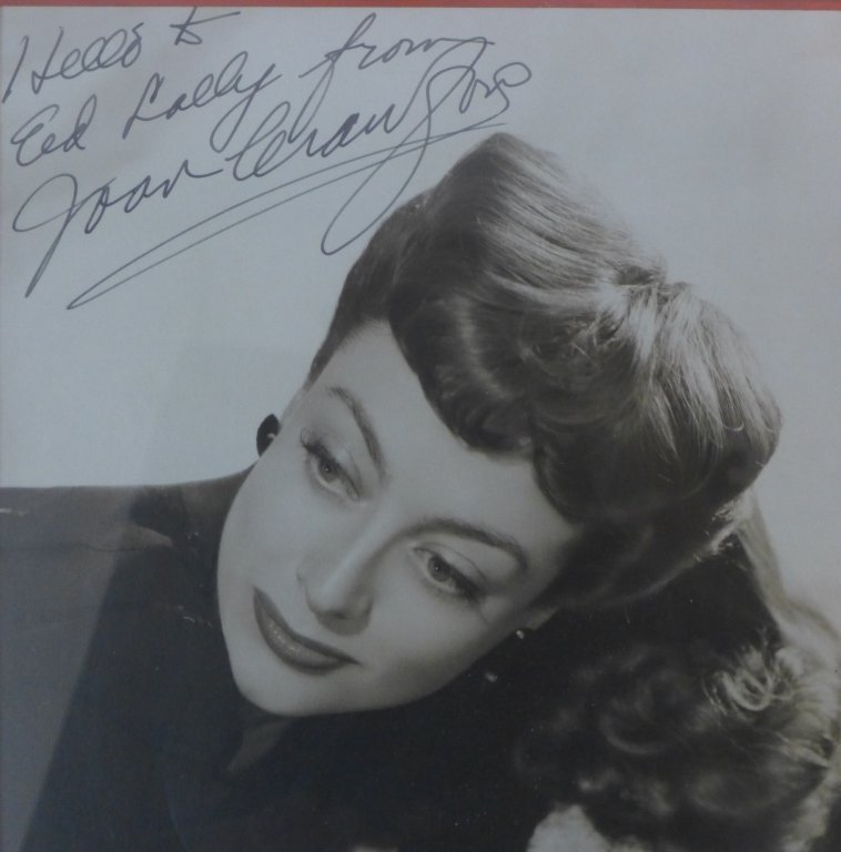 Autographed Photo of Joan Crawford - 3