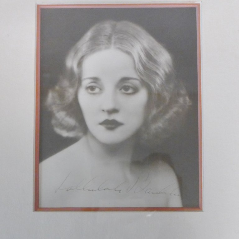 Autographed Photo of Tallulah Bankhead - 2