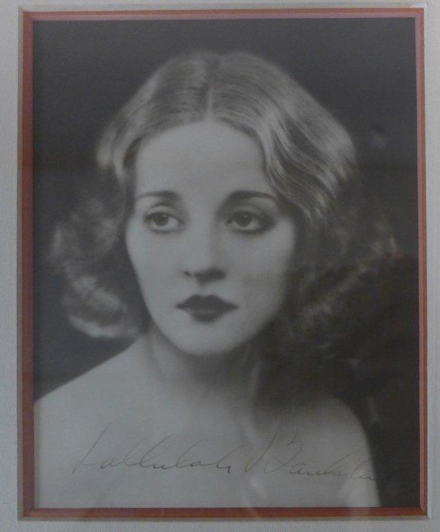 Autographed Photo of Tallulah Bankhead - 3