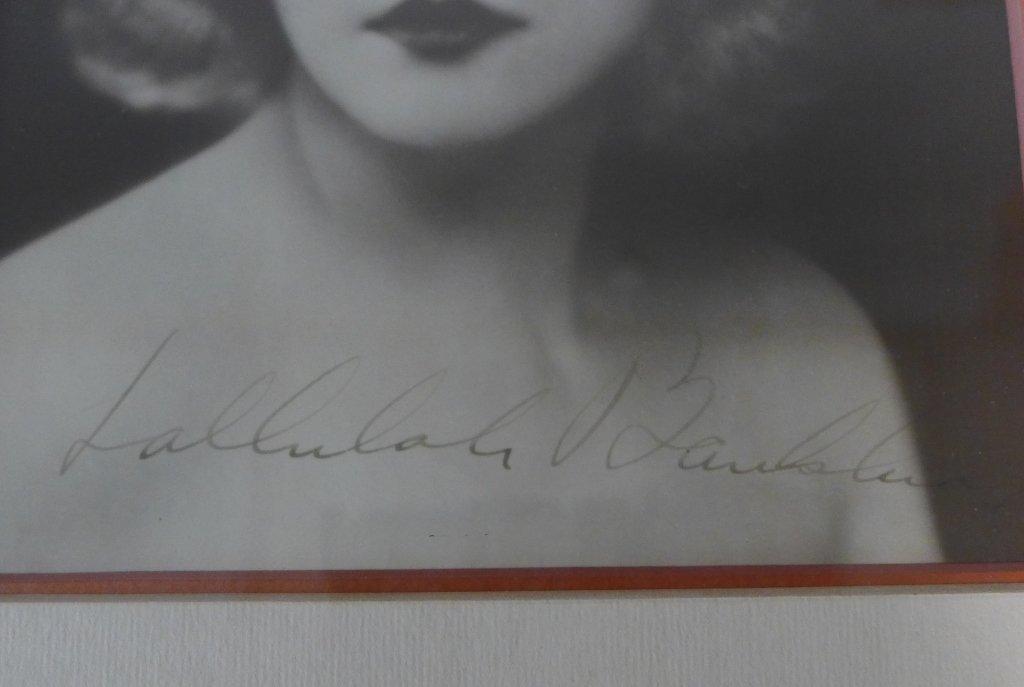 Autographed Photo of Tallulah Bankhead - 7