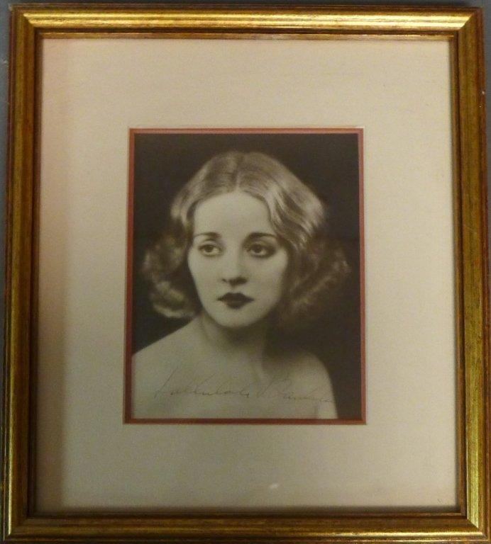 Autographed Photo of Tallulah Bankhead - 8