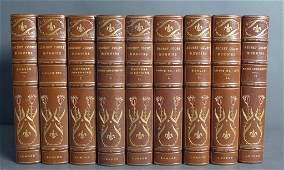 Set of Nine Secret Court Memoirs Books