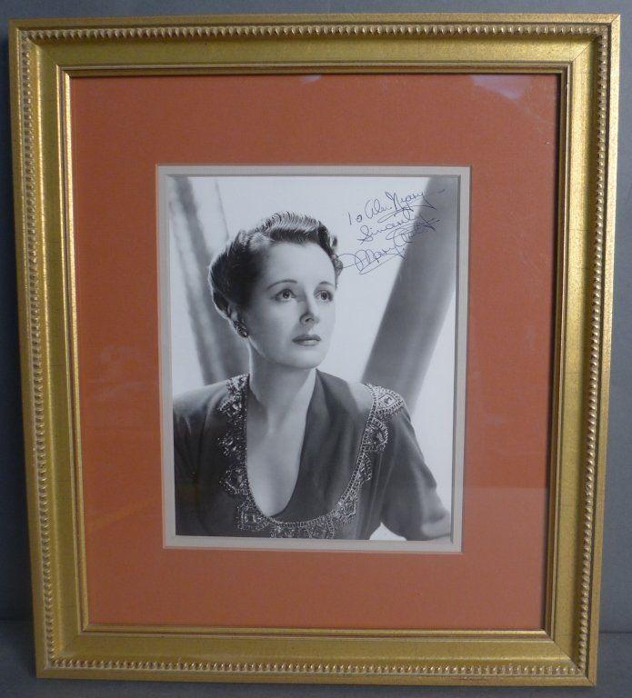Mary Astor Autographed Photo