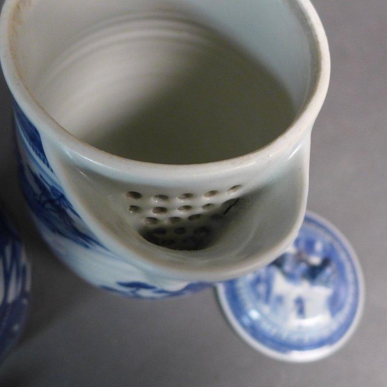 Pair Antique Nanking Cider Jars - 7