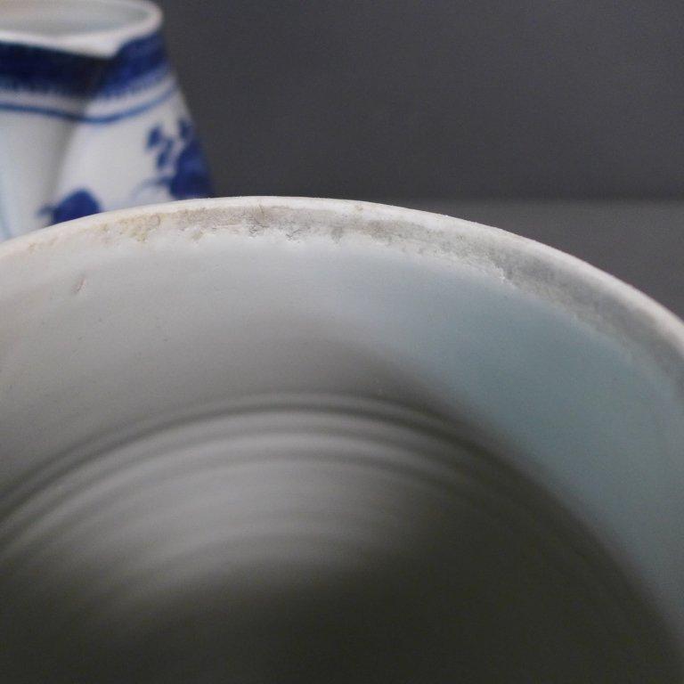 Pair Antique Nanking Cider Jars - 8