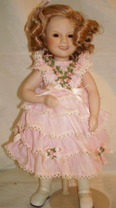 6: Shirley Temple Porcelain Doll