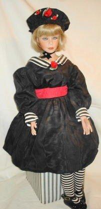 7: Artisan porcelain doll