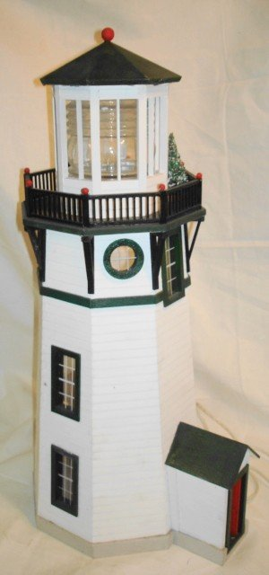 22: Lighthouse, 1/2 scale dollhouse