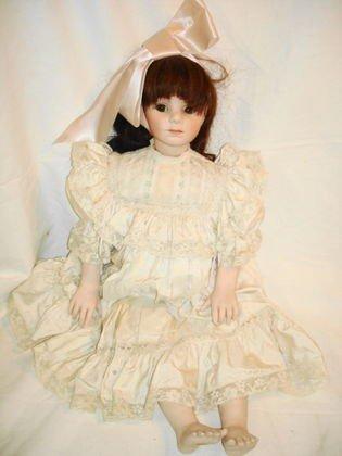 88: Lg porcelain doll, Martina
