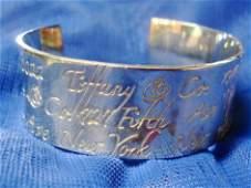 Tiffany & Co. sterling silver cuff bracelet