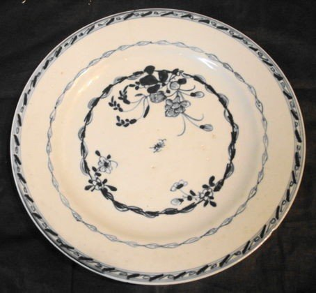 1020: Blue/white Chinese Export plate