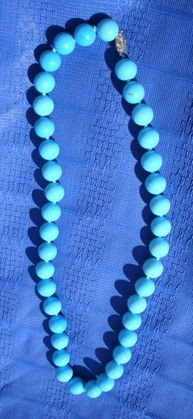 1051: Tiffany & Co Persian Turquoise Necklace - 3