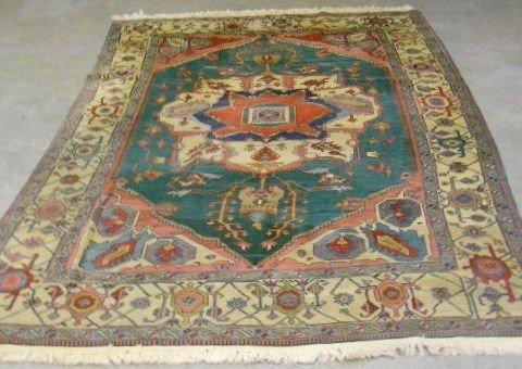 1002: Estate Oriental Hand Woven Rug