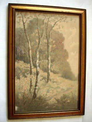 1008: Charles P. Rising watercolor