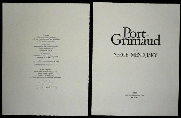 1016: Serge Mendjisky Lithographs, 8 pcs - 3