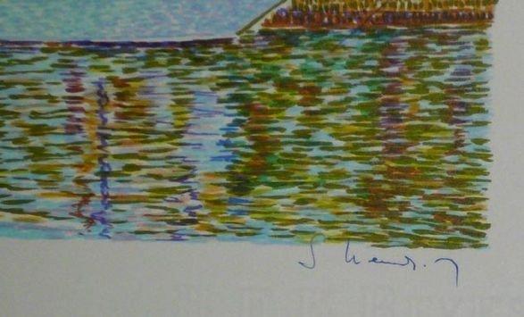 1016: Serge Mendjisky Lithographs, 8 pcs - 4