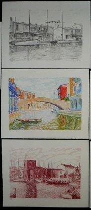 1017: Serge Mendjisky Lithographs, 8 pcs. - 3