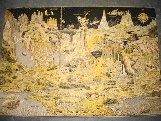 "1018: Original Jaro Hess""The Land of Make Believe"" 1930"
