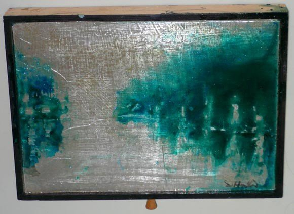 1020: Richard Hambleton (B. 1954) Painting