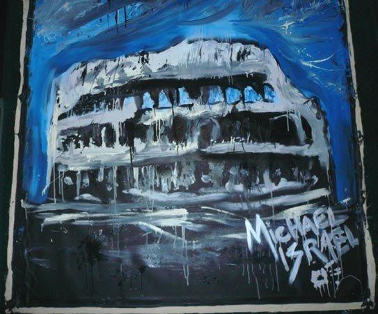 1028: Michael Israel (American) Oil on canvas - 2